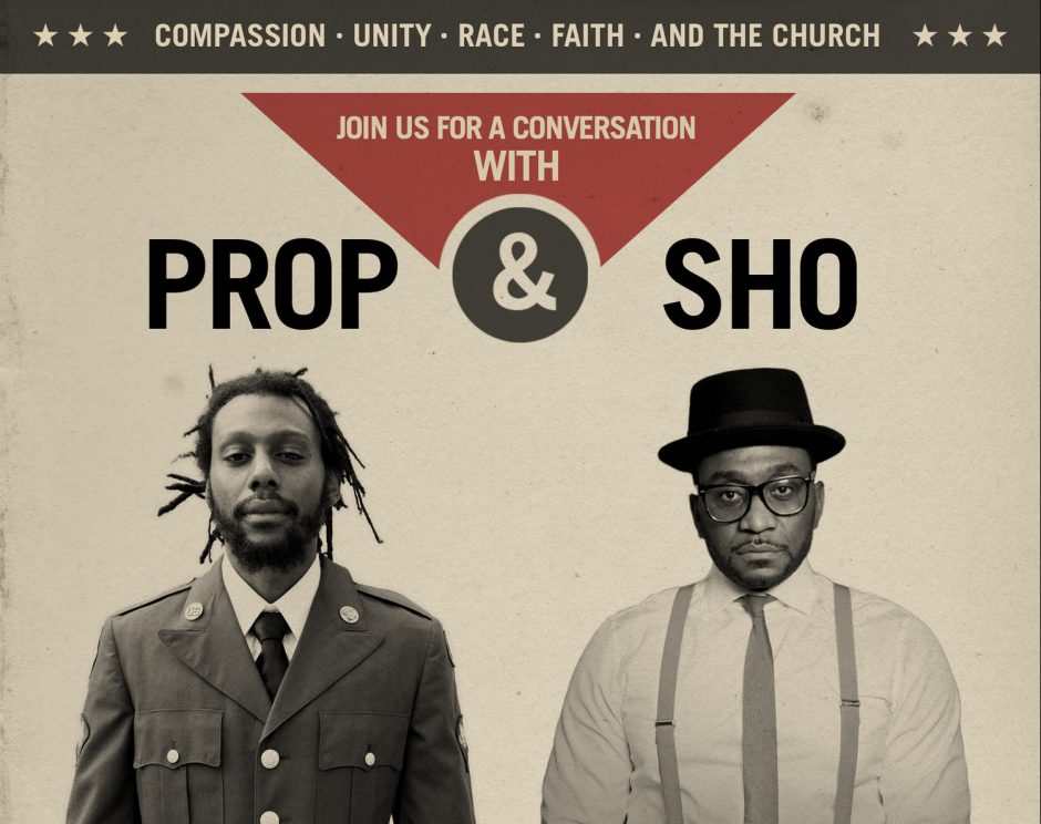 SPOTLIGHT: A Discussion about Compassion, Unity, Race and more with Propaganda and Sho Baraka